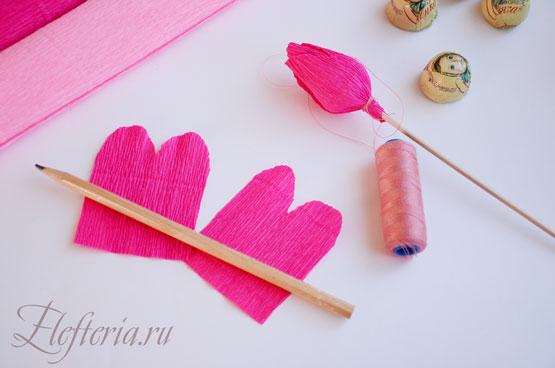 материалы для изготовления роз из конфет