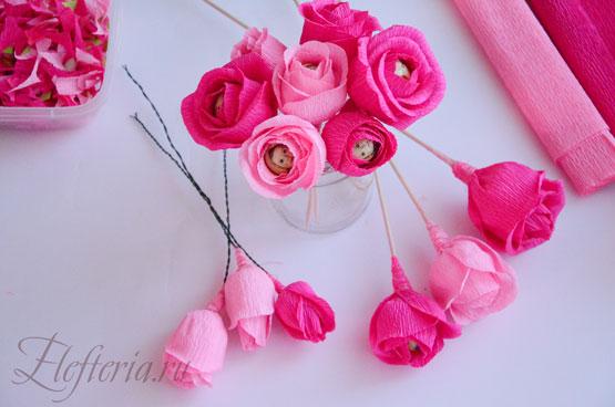 Букет из английские роз своими руками пошагово, кременчуг доставка