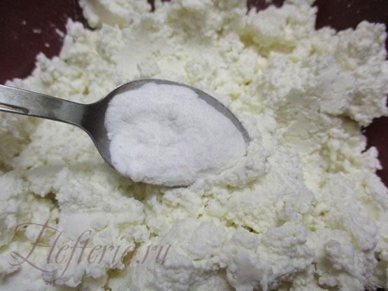 сода для плавленного сыра из творога