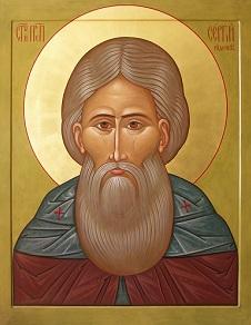 Молитва о детях Сергию Радонежскому
