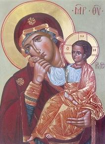 Молитва о детях перед иконой Отрада и Утешение