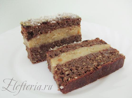 вкусный диетический торт без муки и сахара