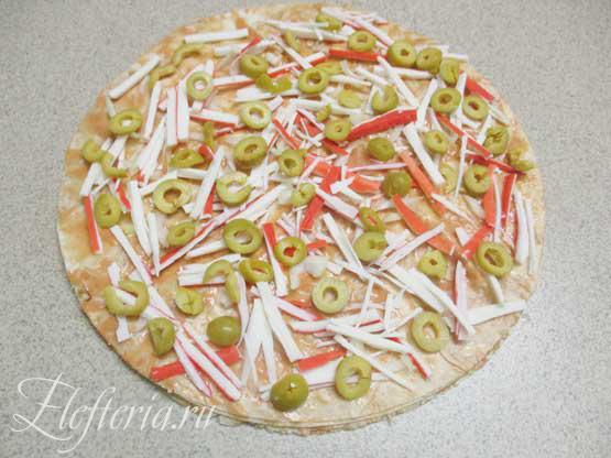 выпекаем постную пиццу в духовке