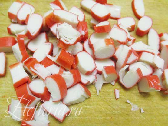 крабовые палочки для постного салата