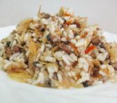 Капуста с рисом «По-монастырски»
