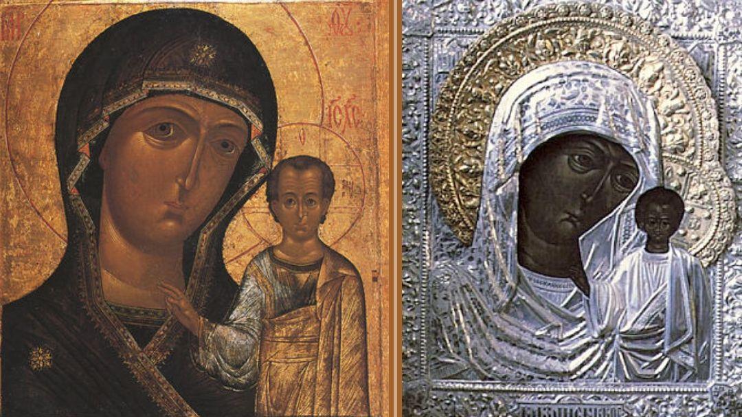 мерцающая янтовская мария иконы казанской фото отца-столяра