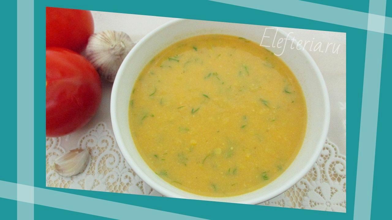 кукурузный суп-пюре