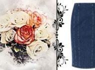 С чем носить джинсовую юбку карандаш? Рубрика «Мода с достоинством»
