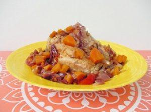 рецепт диетической курицы в духовке с фото