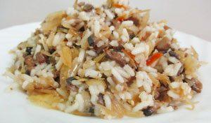 капуста с рисом рецепт с пошаговыми фото