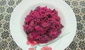 Рецепт салата со свеклой и черносливом с фото