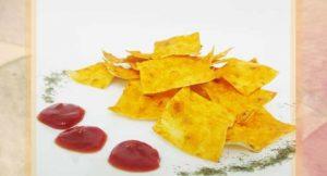 чипсы из лаваша в духовке рецепт с пошаговыми фото