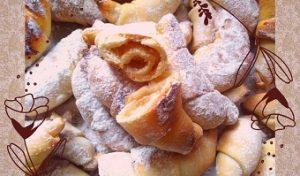 рецепт рогаликов на кефире с пошаговыми фото